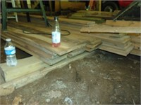 Untreated Boards: (18) 1x8, (9) 1x10