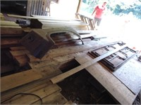 """(12) 2-1/2"""" x 7"""" x ~12-14ft. Wood + Other Wood"""