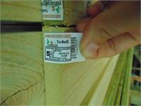 (4) 2x4's + (~40) 1x4's Wood