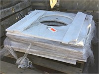 White Cuted Marble, 27x32x1