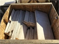 White Marble, Various sizes, 39.5x17.5x1 inches,