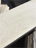 White Marble, 25x8x1 inches, 24x9x.5 inches,