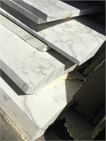 White Marble, 56x13x2 inches approximately