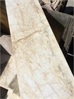 White Marble, 12x12x.5 inches