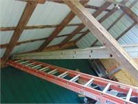 40 ft. Aluminum Werner Extension Ladder