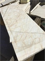 White Marble, 12x6 inches, 24x8.5 inches