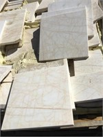 White Marble, 12x12 inches, 16x8 inches