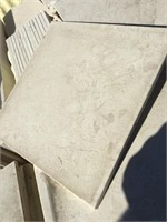 White Marble, 12x12 inches, 12x4 inches