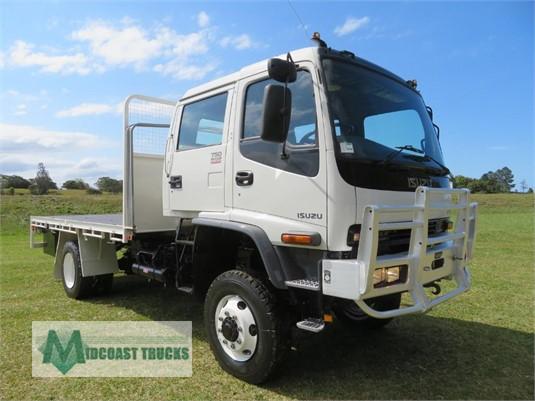 2007 Isuzu FTS 750 4x4 Dual Cab Midcoast Trucks - Trucks for Sale