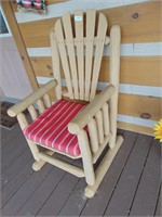 Log Timber Chair