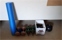 Exercise Lot! Weights Including 10, 5, 2 Pounds,