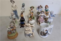 Lot Of Collector Figurines