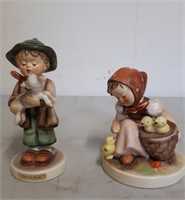 Lot Of 2 Goebel Figurines