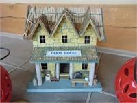 (2) Solar Lights, Farm House Decor, + Painted Rock
