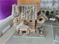 (3) Wooden Bird Houses