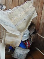 Pillows, Rugs, + Place Mats