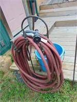 Garden Hose + Electric Water Bucket
