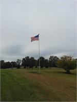 Telescopic Aluminum Flag Pole