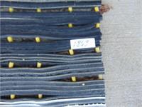 (2) Outdoor Rubber Mats