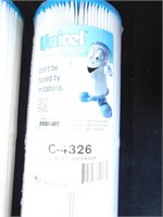 (2) Unicel C-4326 Filters