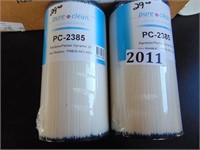 (2) Pure Clean PC-2385 Filters