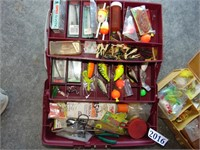 (2) Tackle Boxes w/ Contents