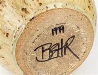 Robert Behr Signed Art Pottery