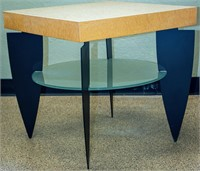 Furniture Modern Square Occasional Table