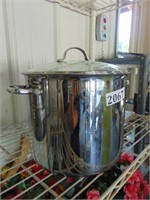 Stainless Steel 12 Qt. Stock Pot