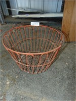 Red Wire Egg Basket