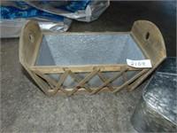 (2) Galvanized Containers