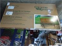 Brand New Country Garden Glider