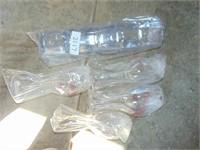 (4) Plastic Wine Glasses + (4) Plastic Cups