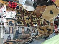 Log Cabin Fabric Samples
