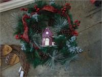 (3) Wreaths