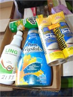 Household Cleaners, De-Icer