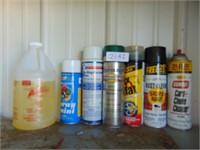 Paint, Carb Cleaner, Fix A Flat, Etc.
