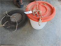 Fish Basket + Plano Minnow Bucket