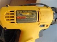 Dewalt 9.6v Drill; Charger; (2) Batteries