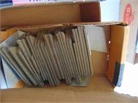 Nails; Brads; Staples (partial boxes)