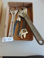 Adjustable Wrenches (3); Pliers