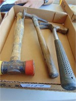 Hammers (2); Plastic Mallet