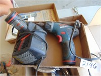 Bosch 12v Cordless Screwdriver with 2