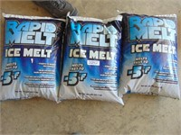 (3) 50lb. Bag of  Rapid Melt Ice Melt