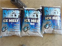 (3) 50lb. Bag of  Rapid Melt Ice Melt