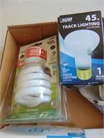3 Way, LED Bulb, + CFL Bulb
