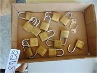 (14) Pad Locks w/ (2) Keys