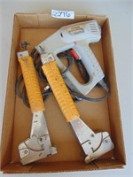Stanley Electric Stapler + Staples