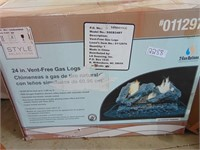"""(New) 24"""" Vent Free Gas Logs"""