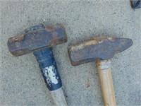 (2) Sledge Hammers